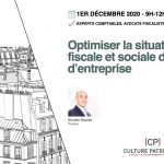 Formation optimisation fiscalité chef d'entreprise