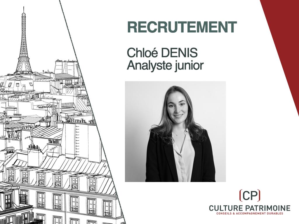 Recrutement Chloé Denis