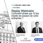 Replay webinaire CCI