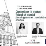 Formation optimiser statut fiscal dirigeants mandataires sociaux